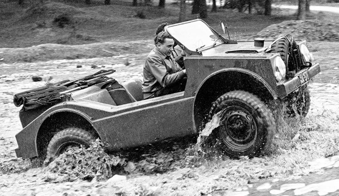 597 Jagdwagen: перший позашляховик Porsche